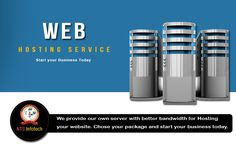 We Provide Our Own Server With Better Bandwidth For Hosting.  Visit -http://www.ntsinfotechindia.com/