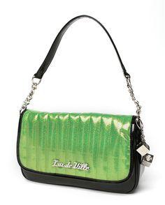 Green Retro Purse