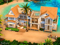 Lotes The Sims 4, Sims Four, Sims 4 Mm, Sims 4 House Plans, Sims 4 House Building, Family House Plans, Sims 4 Houses Layout, House Layouts, Sims Challenge