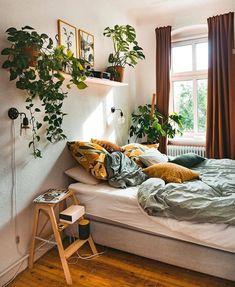 Fantastic Bohemian Bedroom Designs and Decor - interior inspiratio . Fantastic Bohemian Bedroom Designs and Decor - interior inspiratio . Bedroom Apartment, Home Bedroom, Modern Bedroom, Contemporary Bedroom, Master Bedroom, Bedroom Furniture, Cozy Apartment Decor, Minimalist Bedroom, Garden Bedroom