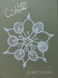 Original #ACEO #Snowflake by silentmagician on Etsy, $5.00