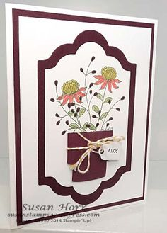 It is Sale-a-bration time at Stampin' Up! This is the most exciting time of year because you can get free product with a $50 qualifying purchase. Order $100 worth of product and pick out two item...