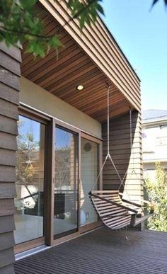 Original design Veranda by Style is Still Living, inc. Interior Architecture, Interior And Exterior, Interior Design, Outdoor Spaces, Outdoor Living, Balcony Design, Decoration Design, House Rooms, My Dream Home