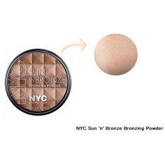Nyc Sun 'N' Bronze dá à sua pele uma aparência saudável, radiante, bronzeada.