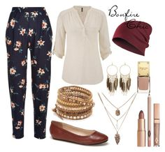 """Bonfire Chic"" by geoff-no on Polyvore featuring Lacoste, maurices, Chan Luu, Panacea, casual, chic, CasualChic and bonfire"