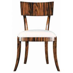 Emerson et Cie a modern take on the klismos chair