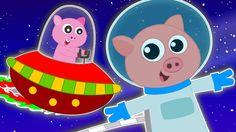 Five Little Piggies | Nursery Rhymes | Kids Rhymes | Baby Songs | Video ...