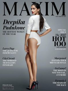 Reigning global queen, Deepika Padukone is sparking off some seriously sultry vibes as the June cover girl for Maxim! - Deepika Padukone flaunts her booty on a latest mag cover and its hot AF Bollywood Actress Hot Photos, Indian Actress Hot Pics, Indian Bollywood Actress, Bollywood Girls, Beautiful Bollywood Actress, Bollywood Bikini, Hindi Actress, Indian Actresses, Indian Celebrities