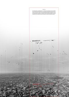 Invisible City by Vassia Chatzikonstantinou, via Behance