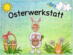Ideenreise: Erste Materialien für eine Osterwerkstatt (Gastmaterial)