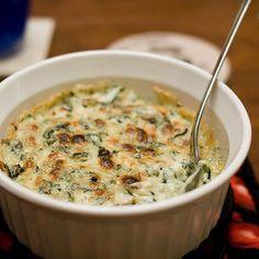 Hot Spinach Cheese Dip Recipe