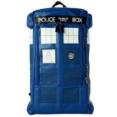 41.05$  Watch now - http://ali9ge.worldwells.pw/go.php?t=32736331329 - New Upgrade Men Women PU Leather Backpack Police Box Doctor Dr Who Tardis Call Box Travel Backpack Laptop luggage Bag For School 41.05$