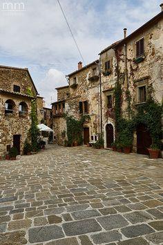 Montemerano (Grosseto), Toscana #Italy #Tuscany