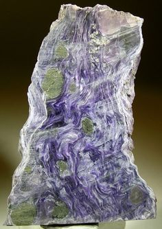 Charoite from the Eastern-Siberian Region, Russia