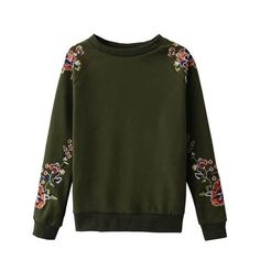 Fashionable classic style of casual embroidery pullover T-shirt