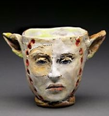 debra fritts (this is actually clay but could be paper clay)