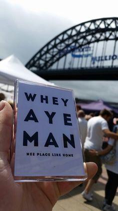 Whey aye man geordie magnet. Tyne bridge Magnets, Bridge, Gifts, Presents, Bridge Pattern, Bridges, Favors, Gift, Attic