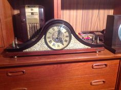 1960s Becha Russian mantel clock