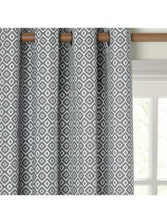 Buy Grey John Lewis & Partners Nazca Pair Lined Eyelet Curtains, x Drop from our Ready Made Curtains & Voiles range at John Lewis & Partners.