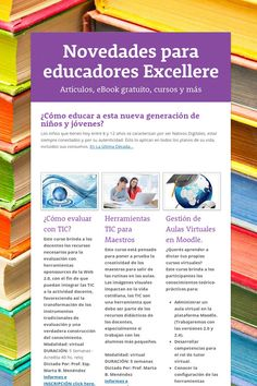 Novedades para educadores Excellere