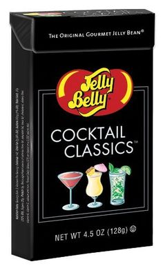 Jelly Belly Cocktail Classics - 4.5 Ounce Flip-Top Box (071567992701) 12-count case of Jelly Belly Cocktail Classics Flavors jelly beans in 1 oz boxes. Perfect present for candy lovers. Convenient size boxes!