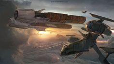 star wars break, ioan dumitrescu on ArtStation at http://www.artstation.com/artwork/star-wars-break