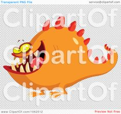 monster Free Vector Illustration, Retro Futurism, Vector Free, Royalty, Clip Art, Future, Fictional Characters, Royals, Future Tense