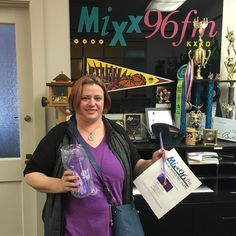Wow! So many winners! Congratulations, Candice M! #radio free #prince #purplerain #mymixx96