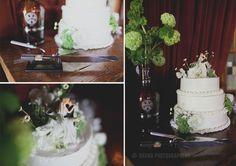 growler centerpieces for wedding | Growler Centerpieces