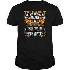 Secret Happiness Marry A Truck Driver Enjoy Tshirt