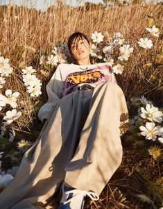 Chiharu Okunugi in Vogue Japan May 2021 by Zoey Grossman Tim Barber, New York Model Management, Nobody Denim, Vogue Japan, Famous Models, Japanese Models, Vogue Paris, Editorial Fashion, Fashion Models