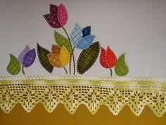 Pintura Patchwork em tecido (Marguitta) Tags: patchwork em pintura tecido