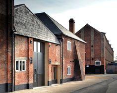 Haworth Tompkins - Aldeburgh Music, Snape Maltings, Suffolk.