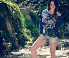 LoveFashion creates the Denim Outfit for Fia Fashion Denim Outfit, Fashion Bloggers, Overall Shorts, Overalls, Fashion Outfits, Clothes, Women, Outfits, Fashion Suits