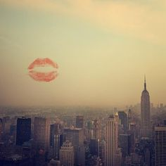 Kisses for New York City!! cant wait to get back one of these days!!