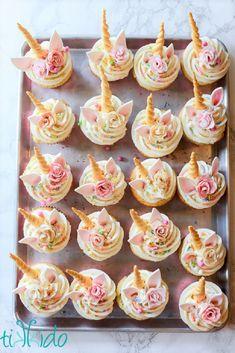 Unicorn Cupcakes Tutorial