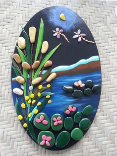 The ultimate guide for DIY rock painting and craft ideas - ROCK ART Pebble Painting, Pebble Art, Stone Painting, Diy Painting, Stone Crafts, Rock Crafts, Clay Crafts, Arts And Crafts, Kids Crafts