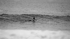 Surfer paddling out by elyse.lu on @creativemarket - available in store East Coast, Surfing, Australia, Store, Creative, Animals, Animales, Animaux, Larger