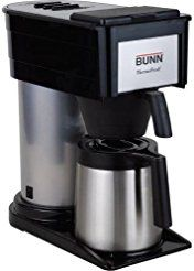 Christmas deals week 382000002 BUNN 10-Cup Thermofresh Home Brewer - 900 W - 10 Cup(s) - Black Silver - Stainless Steel