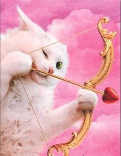 Valentine Kitty (valentine card from Avanti Press. Jani Tykka - Thom Lang -  Reunion des Musees Nationaux)