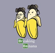 BREAKING BANANA Tees ~ Malaysian designer Chow Hon Lam has come up with a series of illustrations that imagines what it would be like if food came to life. Heisenberg, Funny Illustration, Illustrations, History Instagram, Breaking Bad Art, Text Jokes, Humor Grafico, Drawing For Kids, Drawing Ideas