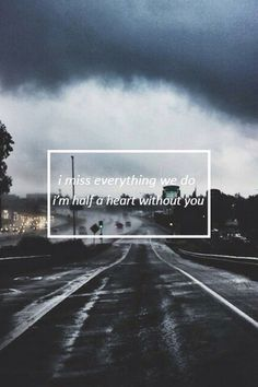 half a heart/ one direction