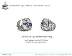 Seattle Seahawks Super Bowl XLVIII Replica Ring from Tiffany & Co.