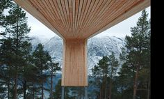 Aurland Lookout, Todd saunders and Tommie Wilhelmsen