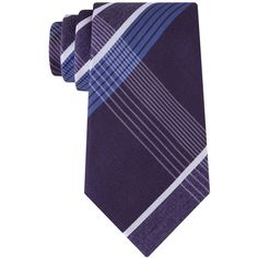 Kenneth Cole Reaction Men's Monte Bianco Plaid Tie ($55) ❤ liked on Polyvore featuring men's fashion, men's accessories, men's neckwear, ties, purple, mens neck ties, mens neckties, mens ties, mens plaid ties and mens purple ties