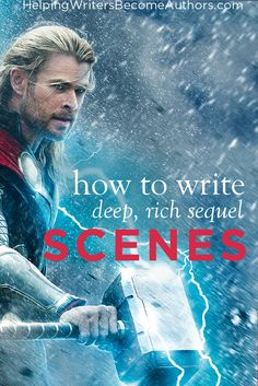 Want to add a meaningful exploration of character to any story? The secret lies in creating deep and rich sequel scenes--the reaction half of the scene. Writing Genres, Writing Romance, Book Writing Tips, Writing Characters, Fiction Writing, Writing Help, Writing Skills, Writing Prompts, Writing Resources