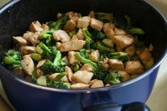 Eating Healthy on a Budget: Teriyaki Chicken and Broccoli I've been wanting to put this recipe up here for a while now, but every time I made it we ate it too fast for me to take a picture!  Whenever my girlfriend and I are tired from a long day, but don't feel like going out to eat, this is what we make.  It's tasty, filling, easy to make and it won't take a huge chunk out of your pocket!