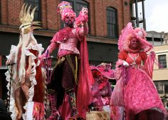 "The latest edition of the zany, fun & exuberant Asheville Mardi Gras Parade will be downtown on March 2, 2014 ... this year's parade theme is ""Where The Wild Things Are"""