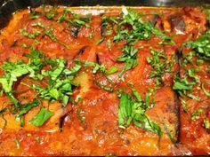 Alvin College Culinary Arts: Paula's Involtini (Eggplant Rolls)  Recipe included