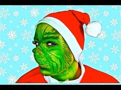 THE GRINCH MAKEUP TUTORIAL! - YouTube